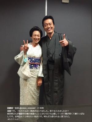 【エンタがビタミン♪】遠藤憲一 『わろてんか』で夫婦役の鈴木保奈美を「お母はん!と呼びたい気分」