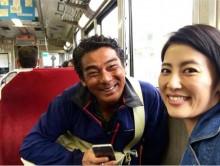 【エンタがビタミン♪】福田彩乃とロケ旅する宍戸開 満面の笑みに「みのもんた?」の声
