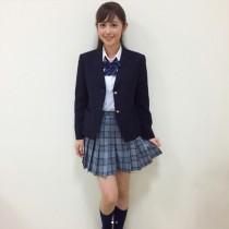 【エンタがビタミン♪】フジ・久慈暁子アナの制服姿に絶賛の声 「永久保存版やな」