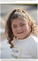 【海外発!Breaking News】難病を抱える8歳少女が誕生日プレゼントの代わりに「MRI検査」を望む(英)