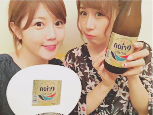 宮崎美穂と大家志津香(画像は『AKB48 宮崎美穂(24) 2017年7月6日付Instagram「昨日お仕事おわりにしーちゃんと沖縄料理を頂いたんだけどとっても美味しかった~」』のスクリーンショット)