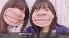 """【エンタがビタミン♪】HKT48矢吹奈子 """"変顔アプリ""""で加工した画像が「誰だか分からない」仕上がり"""