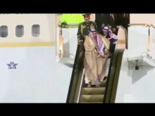 【海外発!Breaking News】モスクワに降り立ったサウジ国王(81) 黄金のエスカレーター式タラップが故障する事態に<動画あり>