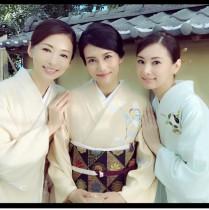 【エンタがビタミン♪】柴咲コウ、松雪泰子、北川景子が再びCM共演 着物姿に「まさに日本の美」