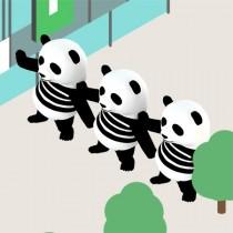 インスタ映え求めて突き抜ける SNSあるある満載ゲーム『いいね大好きパンダを探せ!』
