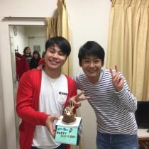 【エンタがビタミン♪】ロザン菅、誕生日ケーキを「ブスが持って来てくれた」と笑顔の2ショット