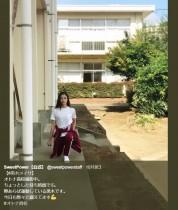 【エンタがビタミン♪】黒木メイサの赤ジャージ姿 『オトナ高校』撮影現場で合間にトレーニング