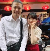 【エンタがビタミン♪】家入レオと田中哲司が2ショット 進むドラマ撮影に激励「ガンバレオ~」