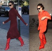 【イタすぎるセレブ達】ヴィクトリア・ベッカムこの秋のお気に入りカラーは「赤」!