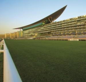 メイダン競馬場芝 画像提供:(c)The Meydan Hotel