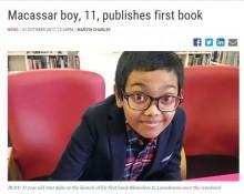 【海外発!Breaking News】11歳少年がホラー小説を出版(南ア)