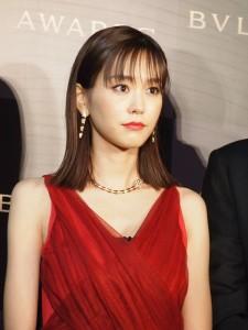 桐谷美玲 「BVLGARI AVRORA AWARDS 2017」ゴールデンカーペットセレモニー