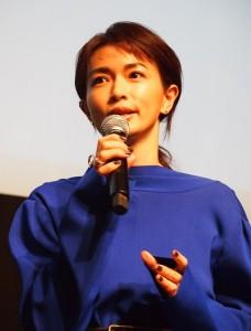 旅について語る長谷川京子