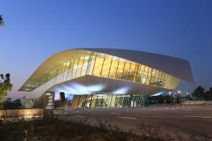エティハド・ミュージアムの屋根の形は条約文書がモチーフ 画像提供:(c)ドバイ政府観光・商務局