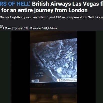【海外発!Breaking News】苛立ちなんと10時間 ブリティッシュ・エアウェイズ機システム異常で断続的な騒音