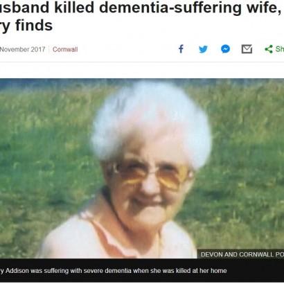 【海外発!Breaking News】夫婦ともに認知症 67年連れ添った妻を殺害した夫に有罪判決(英)