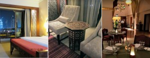 ザ・パレス・ダウンタウン客室とレストラン Photo by 横手
