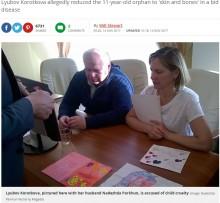 【海外発!Breaking News】「病気の養子を介護するヒロイン」 市長までも欺いた女 児童虐待の罪で逮捕(露)