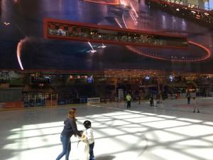アイススケートリンク Photo by 横手