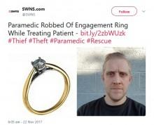 【海外発!Breaking News】女性救急救命士、患者の治療中に貴重品の入ったバッグを盗まれる(英)