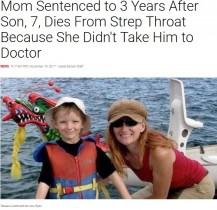 【海外発!Breaking News】病気の息子を医師に診せず死なせた母親に3年の実刑判決(カナダ)
