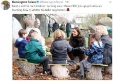 【イタすぎるセレブ達】キャサリン妃、ロンドンの小学校で児童とガーデニングを楽しむ<動画あり>
