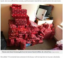 【海外発!Breaking News】クリスマスプレゼントを盗まれた母、見知らぬ人々からのオファーに感激(英)