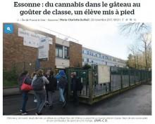 【海外発!Breaking News】大麻入りケーキを教室に持ち込んだ中学生 食べた教師や生徒が体調不良に(仏)
