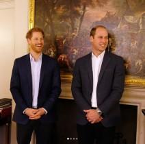 【イタするセレブ達】ウィリアム王子、弟ヘンリー王子の婚約をジョークで祝福 「これで我が家の冷蔵庫が…」