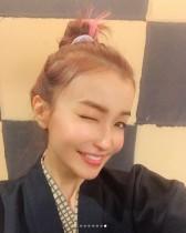 【エンタがビタミン♪】平子理沙 温泉浴衣姿に「どーしてこんなにかわいいんだろ」驚きの声