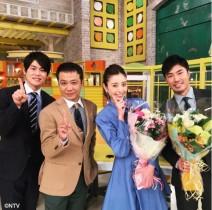 【エンタがビタミン♪】片瀬那奈と佐藤義朗アナ 『シューイチ』にて誕生日を祝福される