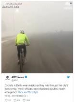 【海外発!Breaking News】世界最悪の大気汚染インド・デリー 望みを託した散水ヘリも視界不良で飛べず