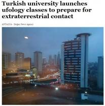 【海外発!Breaking News】「地球外生命体から人類を守れ」 UFO到来に備える新学問がトルコの大学に