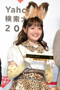アニメ部門賞『けものフレンズ』サーバル役 尾崎由香