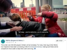 【海外発!Breaking News】英国王立動物虐待防止協会、ホームレス達の飼い犬に防寒コートをプレゼント<動画あり>