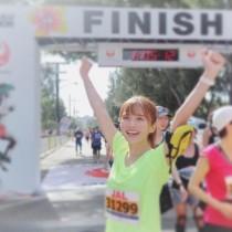 """【エンタがビタミン♪】AAA宇野実彩子""""ホノルルマラソン""""完走「全ランナーの皆様お疲れ様でした!」"""