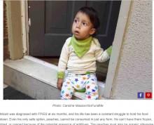 【海外発!Breaking News】桃しか食べられない2歳の男の子(カナダ)
