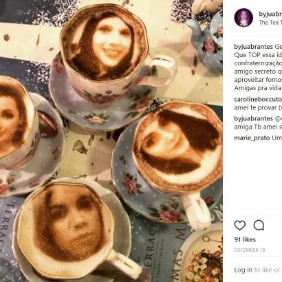 【海外発!Breaking News】英ロンドンのカフェ、客のセルフィーをラテアートに! その名も「セルフィーチーノ」