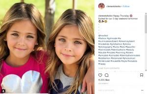 【海外発!Breaking News】インスタフォロワー19万人超 7歳の双子美少女が人気急上昇中(米)