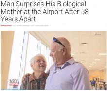 【海外発!Breaking News】養子に出した息子と58年ぶりに再会 80歳母は号泣(米)<動画あり>