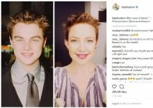 【イタすぎるセレブ達】ケイト・ハドソンのショートヘアが、かつてのレオ様に激似!