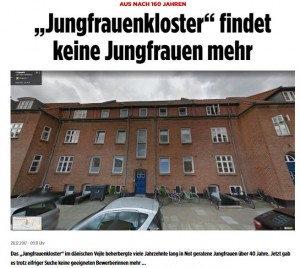 【海外発!Breaking News】歴史ある女性保護施設が閉鎖 あまりにも厳しい入居条件で(デンマーク)