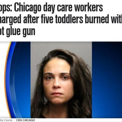 【海外発!Breaking News】32歳女の保育士を逮捕 2歳児5名にホットメルト接着剤を押しつける(米)