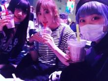 【エンタがビタミン♪】松井玲奈、バジル、ありぼぼが3ショット 観客としてロックフェス『CDJ』に溶け込む