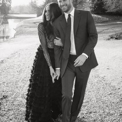 【イタすぎるセレブ達】ヘンリー王子&メーガン・マークル 婚約写真への反響受けて、もう1枚公開