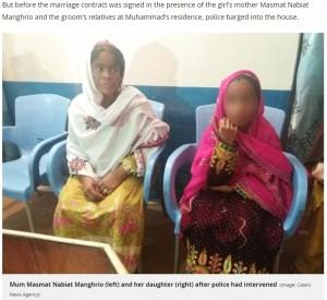 【海外発!Breaking News】50歳男との結婚を強いられた10歳少女 儀式直前に警察が保護(パキスタン)