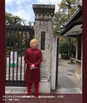 【エンタがビタミン♪】カズレーザー、トレエン・たかしらと京都旅行 母校で記念写真も