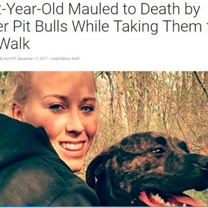 【海外発!Breaking News】またピットブル…22歳の飼い主が食い殺される 林を散歩中に豹変か(米)
