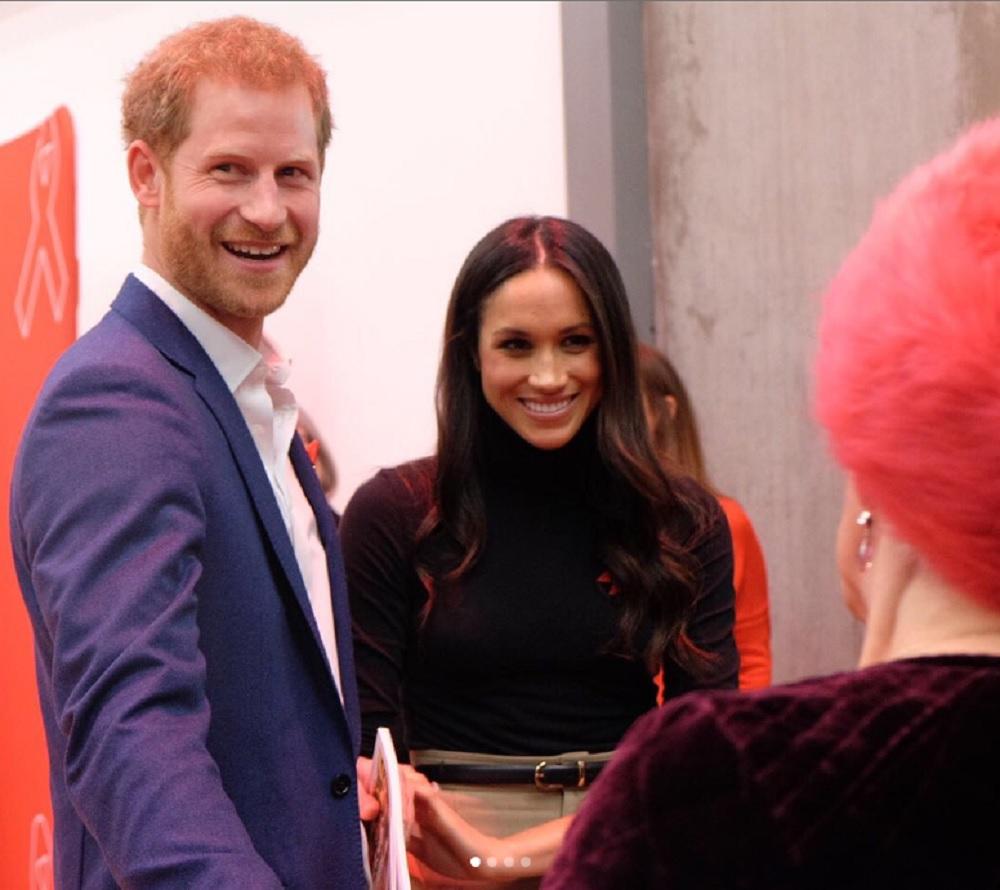 ヘンリー王子とメーガンに、批判の声も…(画像は『Kensington Palace 2017年12月2日付Instagram「Prince Harry and Ms. Meghan Markle then visited the Nottingham Contemporary Exhibition Centre for an event to mark #WorldAidsDay hosted by @THTorguk.」』のスクリーンショット)