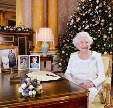【イタすぎるセレブ達】エリザベス女王、ヘンリー王子婚約者やウィリアム王子夫妻の第3子に言及 クリスマス恒例スピーチで